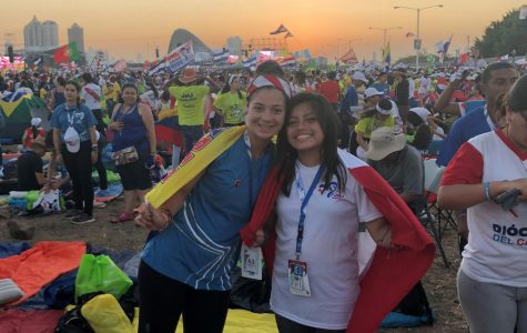 Students attend World Youth Day in Panama