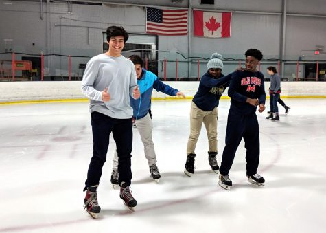 Photo Gallery: STAND ice skating event