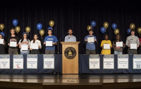First Annual Fine Arts Signing Day