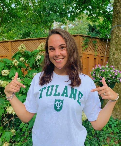 Senior Riley Hendrix will swim at Tulane University next year. After competing at Junior Nationals this summer, she's  currently preparing for her final high school swim season.