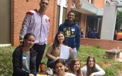 World Language students compete in poetry declamation contest