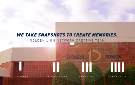 The Golden Lion Network works hard throughout the year to create pre-game hype videos for various sports, including football, volleyball, basketball, and soccer.