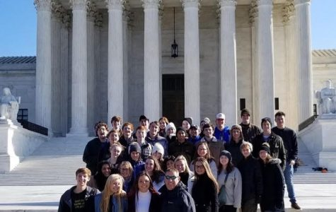 Seniors visit Washington D.C. and tour the United States Holocaust Memorial Museum