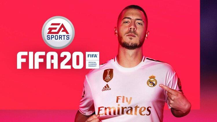 Eden+Hazard+from+Real+Madrid+is+one+of+three+players+to+be+on+the+cover+of+FIFA+20.+FIFA+21+is+expected+to+be+released+later+this+fall.