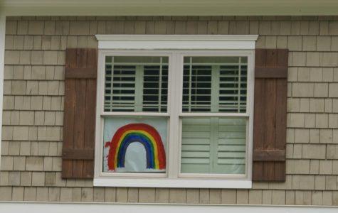 Neighborhoods decorate windows, lawns to spread positivity