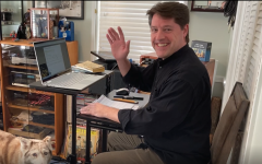 Faculty members share what it's like to teach from home