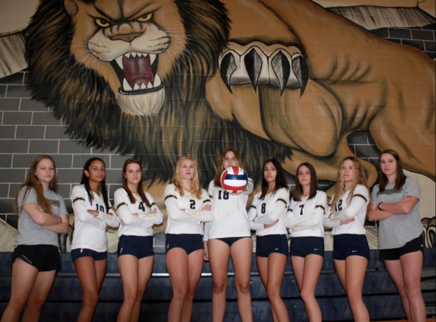 Four of the seniors on this years varsity volleyball team were on the roster their freshman year when the Golden Lions last won a state championship in 2018. They hope to go out on top and once again bring home a title in their last season with the program.